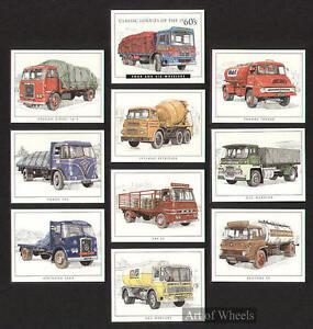 Lorries-60s-Bedford-Seddon-Guy-AEC-Print-Trade-Cards