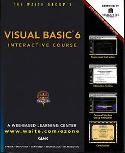 Visual-Basic-6-Interactive-Course-Book-and-CD-Unused