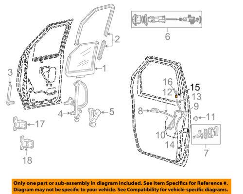 FORD Driver Side Left Hand Door Lock Knob new OEM D9ZZ-6621850-B