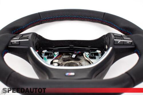 Tausch TUNING Lederlenkrad BMW M Lenkrad F10 F11  F12 F13 NEU LEDERRBEZUG
