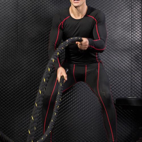 Details about  /Men/'s Compression Fitness Base Layer Slim Solid T-Shirt Top Workout Jogging