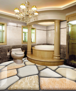 3D Stones Tile Art 783 Floor WallPaper Murals Wall Print Decal AJ WALLPAPER US