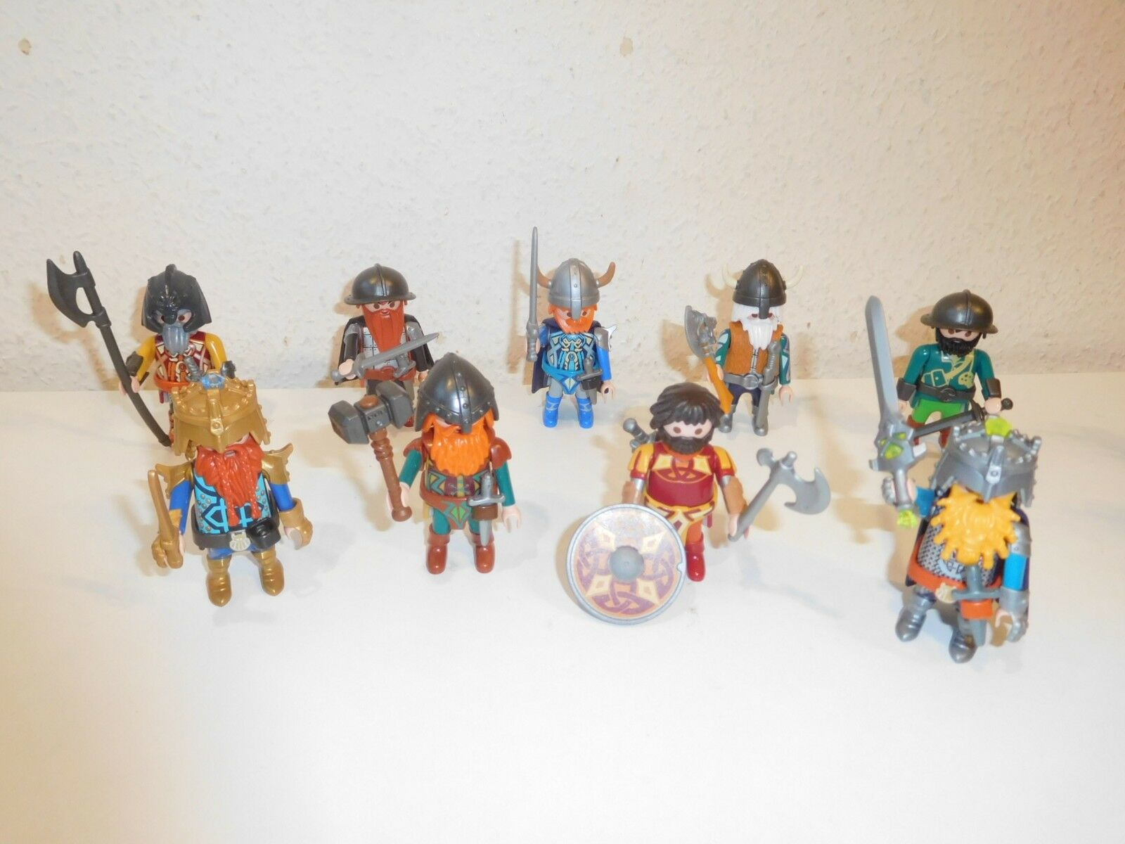 Playmobil gnom dwarfs zwerge knights  figures from 9345 9344 9341 etc (1)