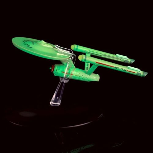 USS Defiant in Interphase Glow in The Dark Model with Magazine by Eaglemoss