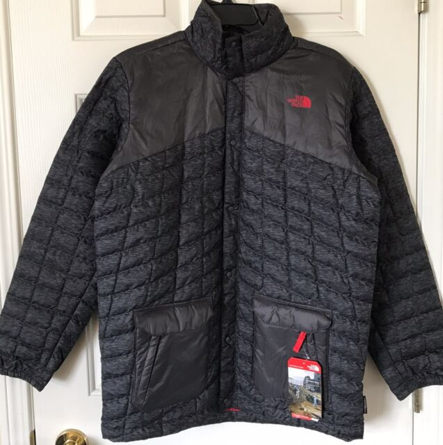 07fc4072d Boys The North Face Hayden Thermoball Jacket Graphite Gray Heather L