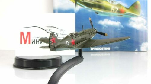 MIG-3 Legendary aircraft 1943 Metal model 1:101 Deagostini \
