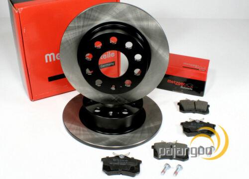Audi A6 Metzger Bremsscheiben Bremsen Bremsbeläge für hinten C5
