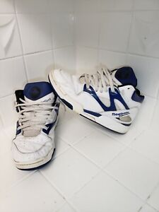 Details about 1999 Reebok The Pump Omni Limited Edition Blue & White Basketball Shoes Size 8.5