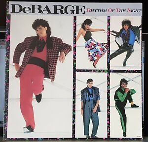 DeBarge-Rhythm-Of-The-Night-1985-gatefold-LP-record-excellent