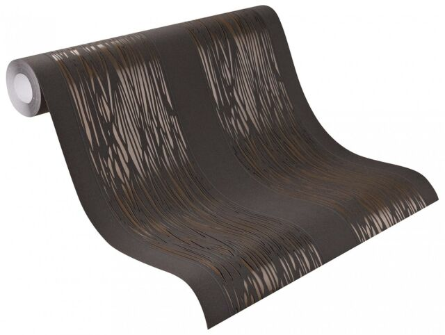 Rasch Tapete Brooklyn Vliestapete 773125 schwarz braun metallic (2,39€/1qm)