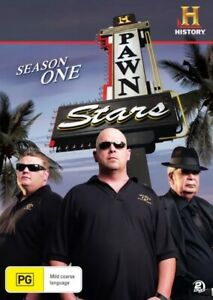 NEW-Pawn-Stars-Season-Series-1-DVD-2011-2-Disc-Set-Aus-Region-4