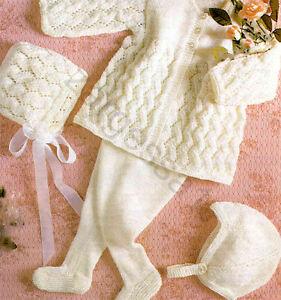 04727074c Lovely Baby Vintage Pram set for Boy or Girl - Knitting Pattern ...