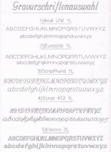 Gravierservice Klingelplatte beschriften Gravieren Türklingel Türschild Klingel