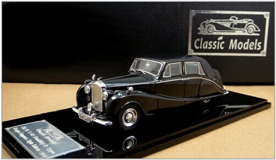 1 43 Bentley R -Type Hooper Empress Style Saloon 1953 Limited Edition
