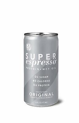 12x Cans Kitu Super Espresso Original 6 Fl Oz Bulk