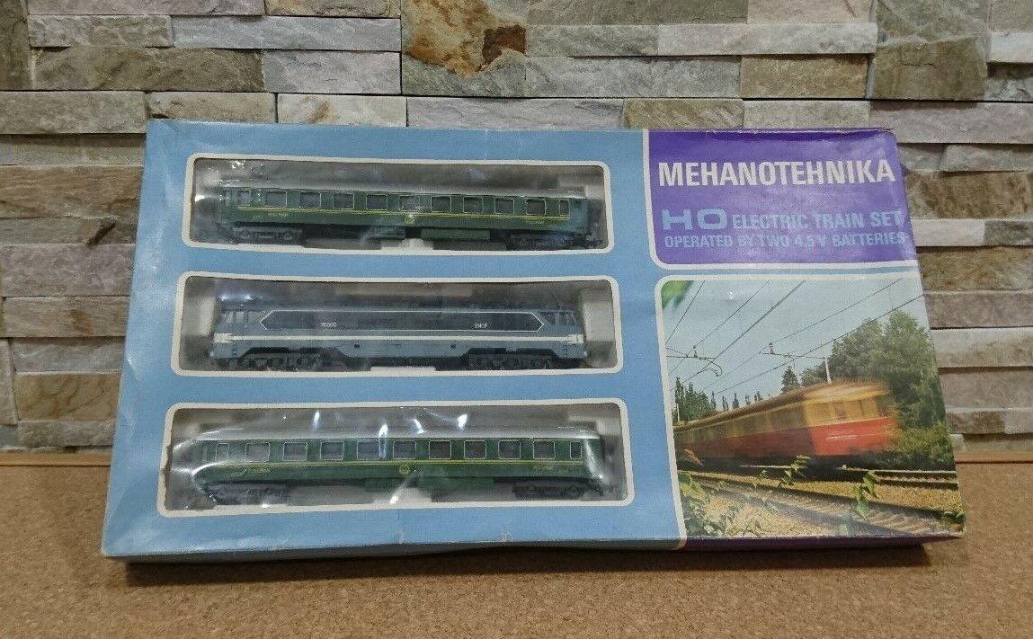 START set anni 70 - RARO  Mehanotehnika H0 HO - SNCF- COMPATIBILE LIMA