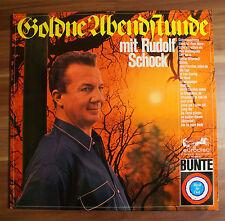 """12"""" LP Vinyl RUDOLF SCHOCK Goldne Abendsonne selten TOP ZUSTAND!"""