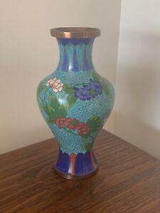 Vantage-Cloisonne-Chinese-Vase