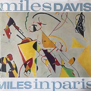 MILES-DAVIS-MILES-IN-PARIS-PAL-LASERDISC-Comme-neuf