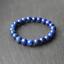 Natural Spiritual Grade A Blue Lapis Lazuli Stretch Healing Chakra Yoga Bracelet