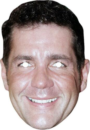 Dale Winton Retro Celebrity TV Personality Card Mask All Masks Are Pre-Cut***