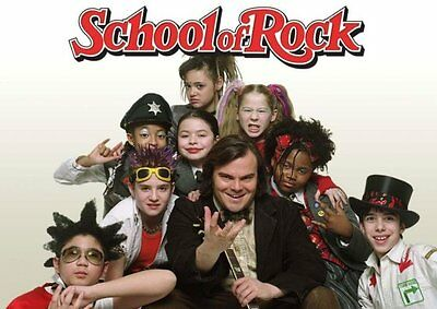 SCHOOL OF ROCK MV00342 MOVIE POSTER REPRODUCTION PRINT A4 A3 A2 A1