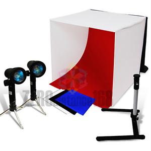 Portable 40cm Camera Studio Photo Soft Box Light Tent Lighting Cube Softbox Kit