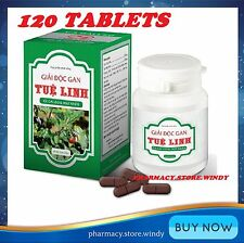 120 tablets Tue Linh improve liver enhance toxicity secretion for hepatitis B
