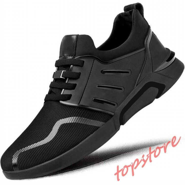 Mens casual sneakers breathable running shoes Lace Up athletic sports shoes 6-10