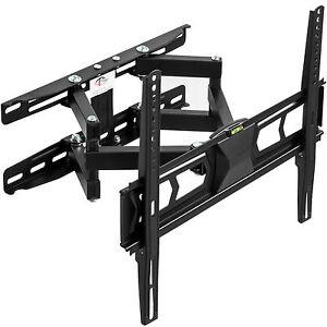 LCD LED TV Fernseher Wandhalter Wandhalterung neigbar schwenkbar 32-55 Zoll