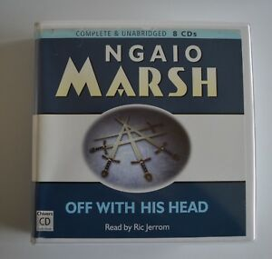 Off-With-His-Head-by-Ngaio-Marsh-Unabridged-Audiobook-8CDs