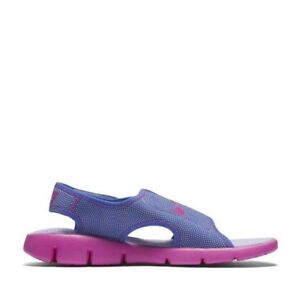 79bab45dc1e5 Nike Sunray Adjustable 4 (GS PS) Girls  3Y Sandal 386520-504 Purple ...