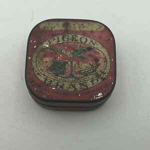 Vintage-Pigeon-Brand-Corona-Typewriter-Co-Rare-Empty-Advertising-Ribbon-Tin-Y6