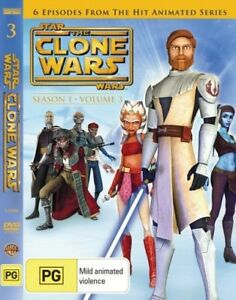 Star Wars: The Clone Wars - Season 1 - Volume 3 = NEW DVD R4