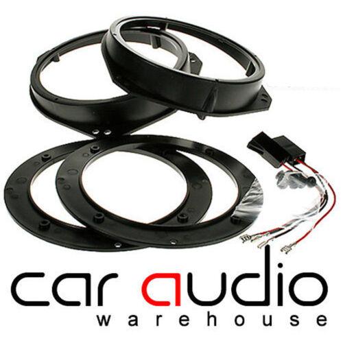 SAK-3001 For Nissan Primastar 01-06 Front Door Car Speaker Ring Adaptors 165mm