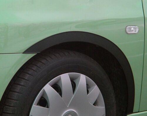 Radlauf las molduras Renault Clio IV BJ/' 12-conjunto de negro mate 4 trozo