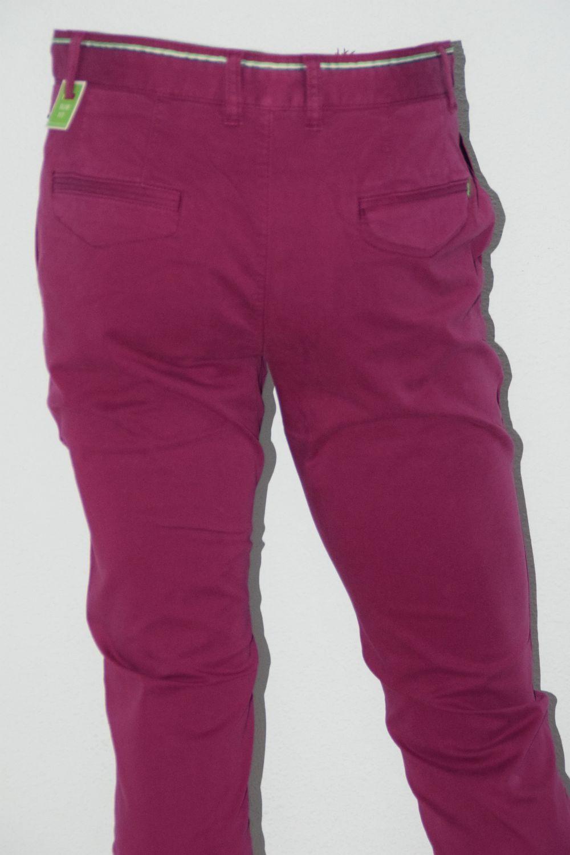 HUGO BOSS Grün HOSE Mod. Lakany 1-D 1-D 1-D Gr. 50 Slim Fit Stretch Dark rot 9165b6