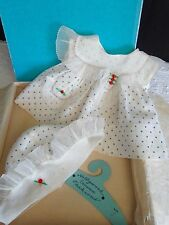 Vintage 1930s Ideal Shirley Temple Doll Molly-'es Boxed Dress and Hat Outfit