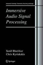Immersive Audio Signal Processing (Information Technology: Transmission, Proces