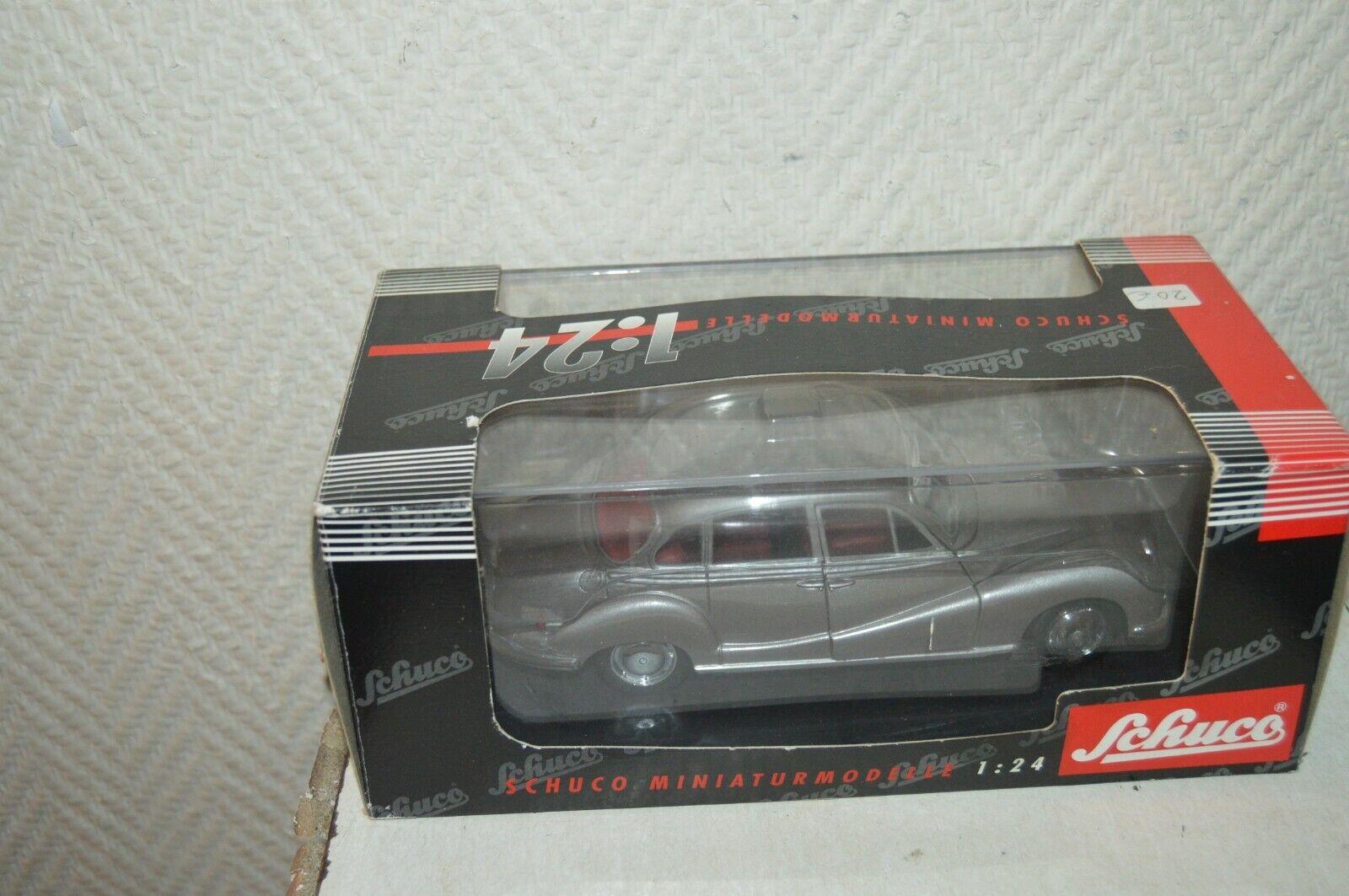 Miniatur Car Schuco BMW 502 Grau 1 24 Neu Metall Car  Car