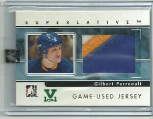 ITG-Superlative-Vault-Gilbert-Perreault-3-Color-Jersey-Patch-Card-1-of-1