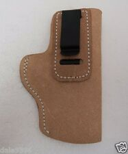 Don Hume H715 #36-4 Soft Pocket Clip-on IWB Holster Tan RH J168300R