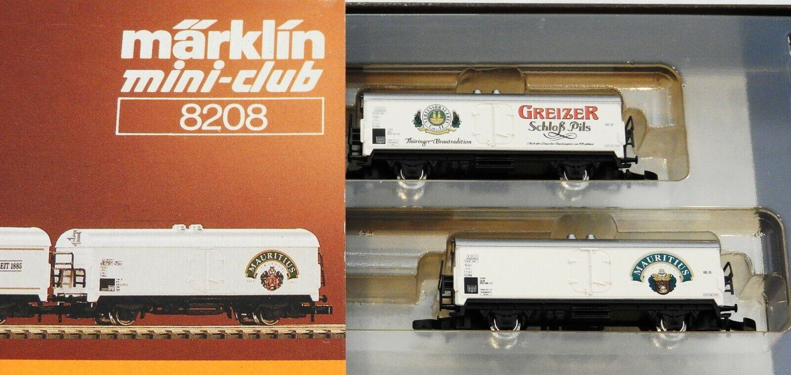 Märklin Mini-Club - 8208 - Bierwagen - 4er Set - Spur Z - in OVP  (B18)