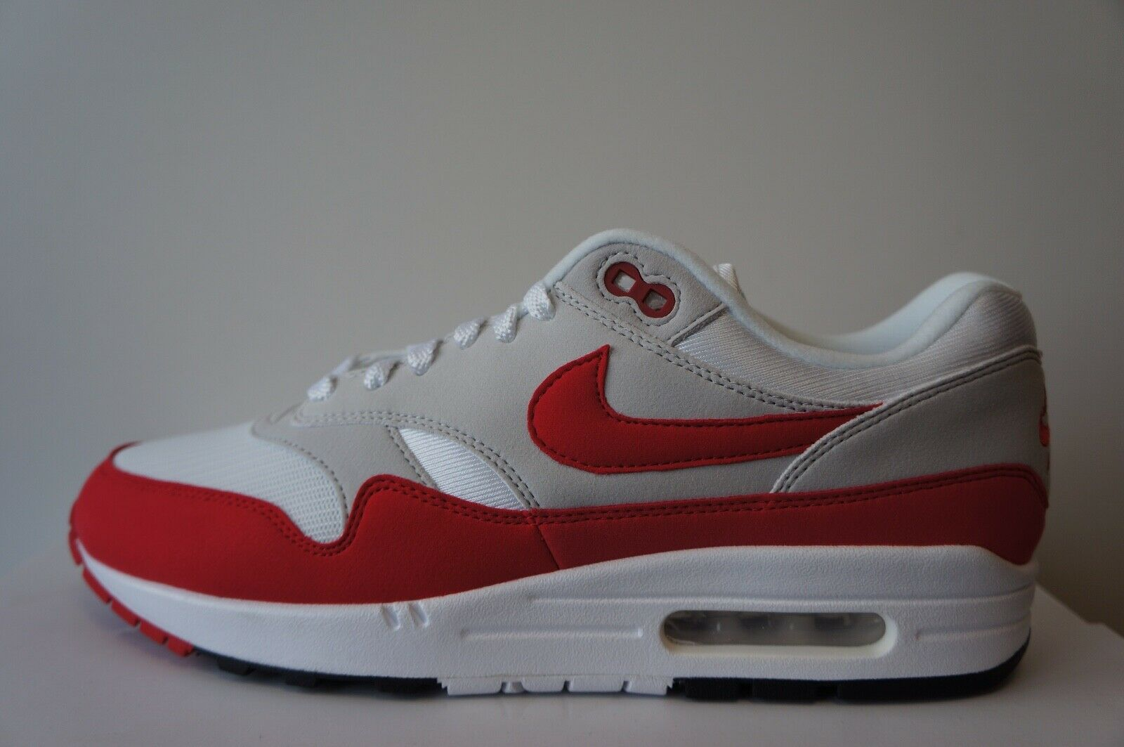 Nike Air Max 1 OG Anniversary rot (Größe 37-49.5) 908375103    | Authentische Garantie