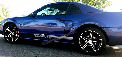 Running Horse Horses Rocker Rockers Decal Decals Stripes fit Ford Mustang C