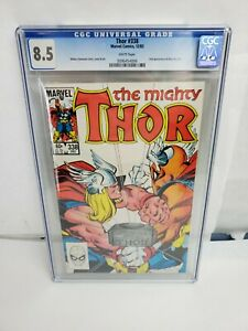 Mighty-Thor-338-CGC-8-5-VF-Marvel-Comics-1983-2nd-App-Beta-Ray-Bill