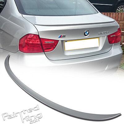 06-11 BMW E90 REAR BOOT SPOILER SEDAN TRUNK OE TYPE 323i 335i 316i 318d 318i