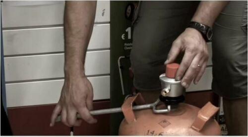 Mister Botella Ayuda Conexión Grifo Bombona Butano Propano Regulador Gas