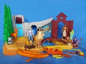 90s-Disney-Mattel-Pocahontas-Fields-of-War-Playset