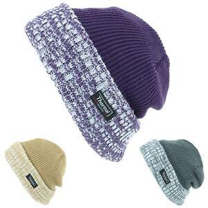 6ffcbf3006b Image is loading Beanie-Hat-Cap-Warm-Winter-GREEN-BROWN-PURPLE-
